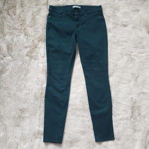 Rich & Skinny Dark Teal Skinny Jeans size 30